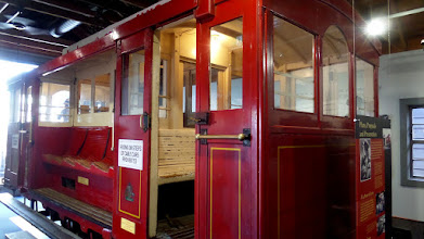 Photo: An early model cable car was in the museum at the top of the hill that explained the history of the cable car in Wellington.