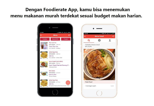 foodierate–indonesian food restaurant deals finder screenshot 2