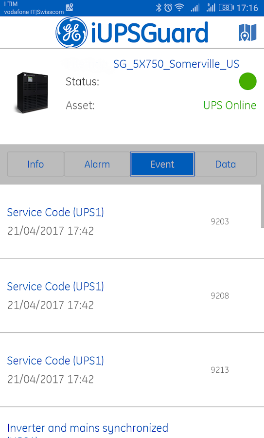iUPSGuard- screenshot