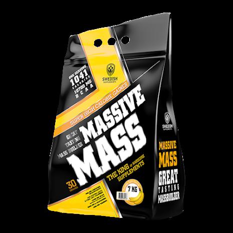 Swedish Supplements Massive Mass 7kg - Wild Strawberry