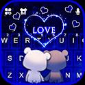 Bear Couple Love Keyboard Theme icon