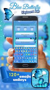 Blue Butterfly Keyboard App screenshot 3