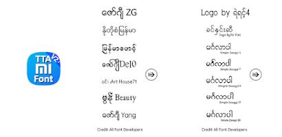 TTA MI Lock Font V2 - Android app on AppBrain
