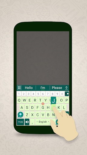 ai.keyboard theme for WhatsApp 5.0.3 screenshots 2