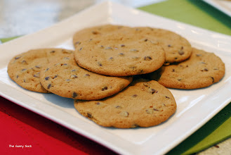 Photo: These chocolate chips cookies by Gerry have a caramel surprise in them!