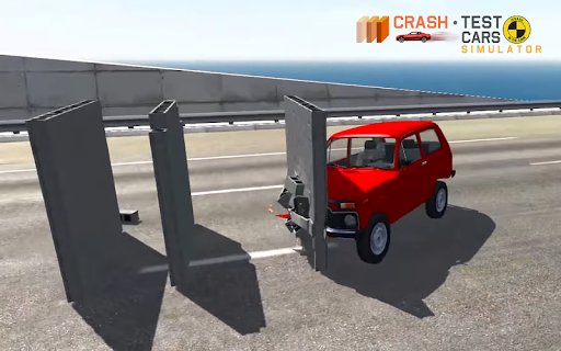 Car Crash Test NIVA  captures d'u00e9cran 11