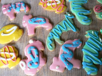 Easter Sugar Cookies W/icing That Hardens Recipe