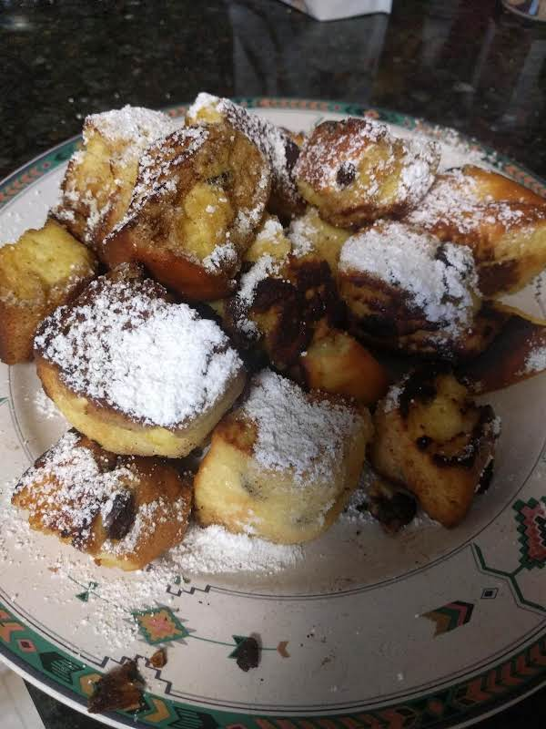Fried Souffle Squares