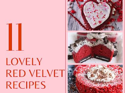 11 Lovely Red Velvet Recipes