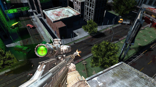 Zombie Sniper Shooting 3D - screenshot
