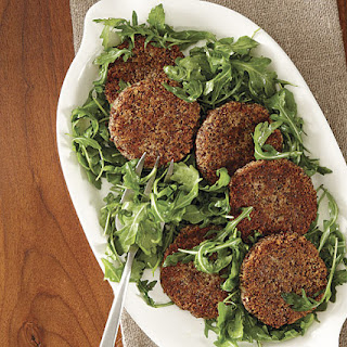Quinoa and White Bean Burgers