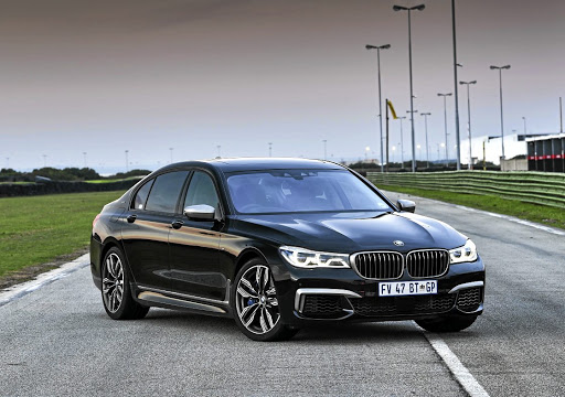 The design touches are subtle in a typical BMW M-division way for the executive models