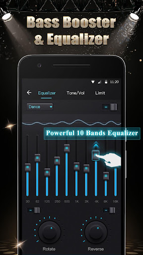 Music Player - Audio Player with Sound Changer 1.2.2 screenshots 3