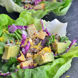 The Best Summertime Lettuce Wraps {Gluten-Free, Dairy-Free, Soy-Free, Sugar-Free}