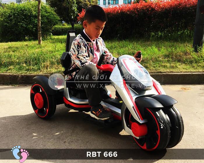 Xe mô tô điện trẻ em 3 bánh RBT-666 1