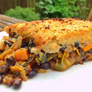 Black Bean and Vegetable Cottage Pie.
