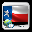 Texas TV show time guide icon