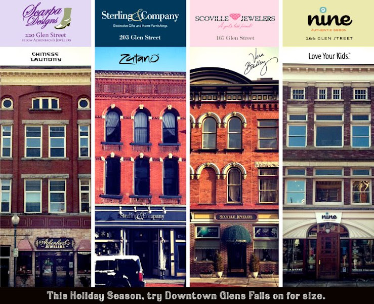 Photo: More of our fabulous downtown Glens Falls businesses. It's a great place to shop!