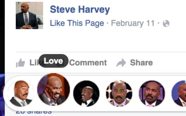 Steve Harvey Reactions
