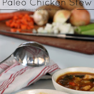 Slow Cooker Paleo Chicken Stew.