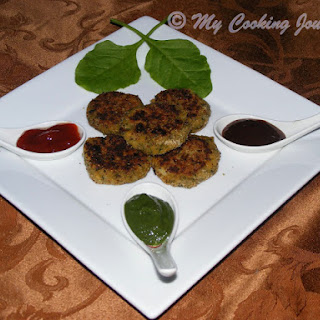 Green Cutlets – Lentil Patties with greens (BM # 29).