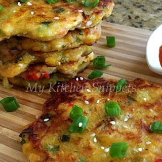 Savory Plantain Pancakes/Fritters
