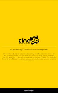 CineDB - náhled