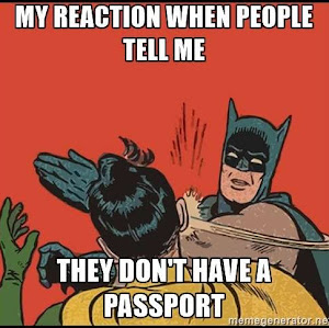 Funny Travel Meme Bat Man Slap My Reaction When People Tell Me