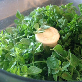 PARSLEY VINAIGRETTE Salad Dressing * Sweet & Tangy * HONEY, Thyme * vegan * no nuts *