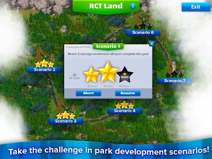 RollerCoaster Tycoon® 4 Mobile Screenshot