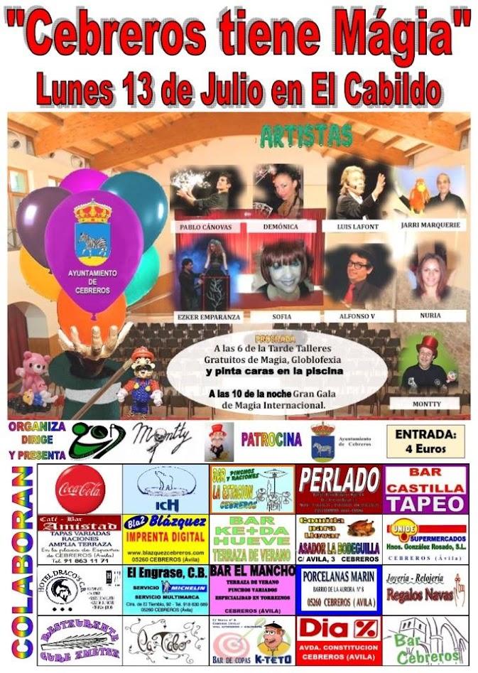 Cartel Cebreros tiene Magia 2015