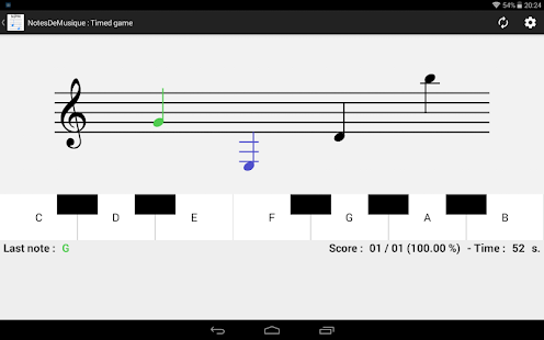 NotesDeMusique (Learning to read musical notation