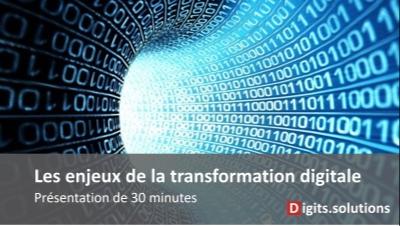 présentation transformation digitales des entreprises