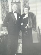 Photo: Governor Gardner and Fay Gardner, the St. Regis Hotel, New York, February, 1947