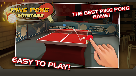 Ping Pong Masters 1.1.4 MOD + APK + DATA Download 1