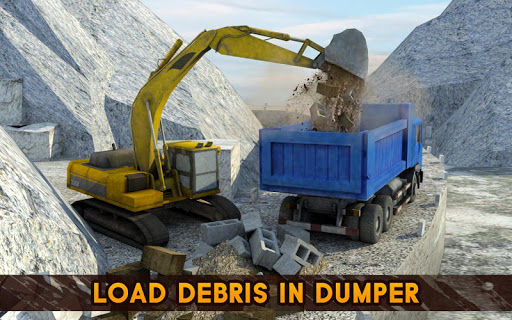 Hill Excavator Mining Truck Construction Simulator 1.2 screenshots 6