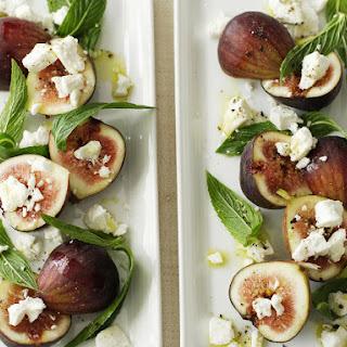 Fig, Feta and Mint Salad