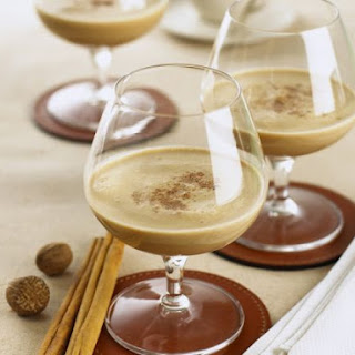 Coffee and Brandy Smoothie.