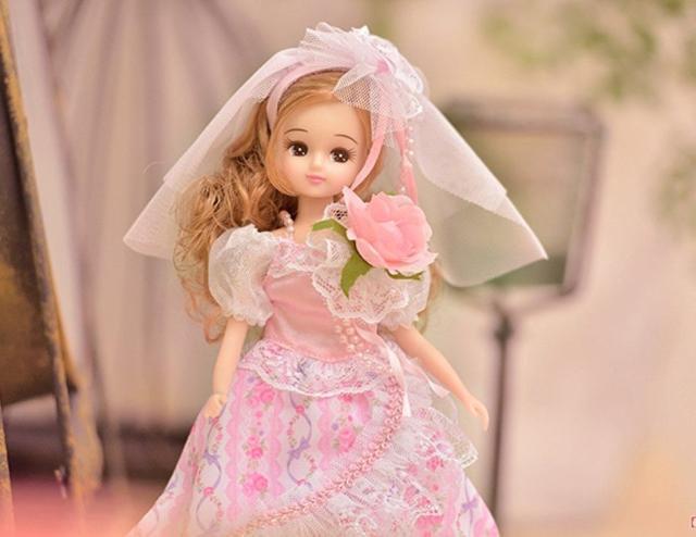 Cô dâu hoa hồng Licca LD-05 Floral Wedding