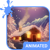 Winter Tale Animated Keyboard