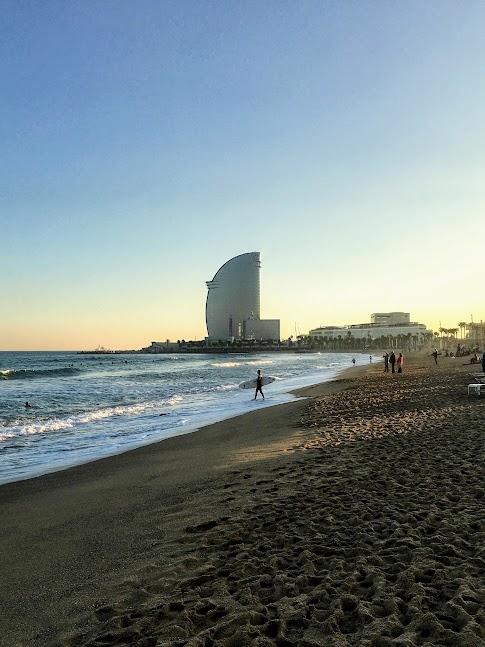 Barceloneta - plaża