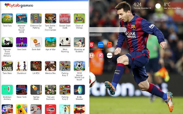Leo Lionel Messi Wallpaper Hd New Tab