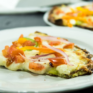 Easy Zoodle Crust Pizza.