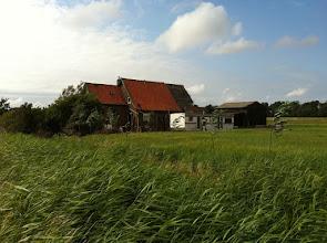 Photo: aanzicht van de oude boerderij