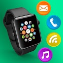 Smartwatch Bluetooth Notifier:sync watch & wear os icon