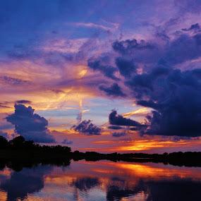 God Coloring Again by Diane Ebert - Landscapes Sunsets & Sunrises ( #landscape, #abstract, #sunset, #dramatic, #photography, #GARYFONGDRAMATICLIGHT, #WTFBOBDAVIS,  )