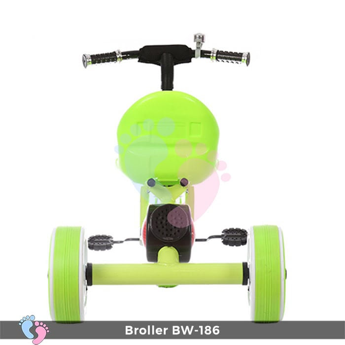 Xe đạp 3 bánh Broller XD3-186 có đèn bánh xe 11