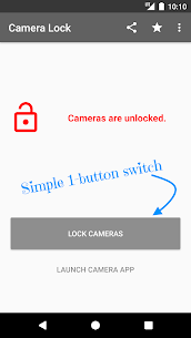 Download Camera Lock – Phone & Tablet Camera Security App For Android 2