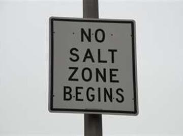 No Salt Zone