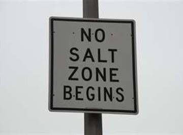 No Salt Zone